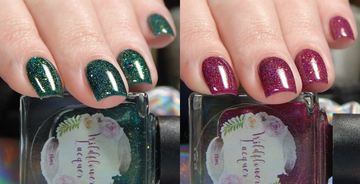 Wildflower Lacquer Save The Elephants Duo