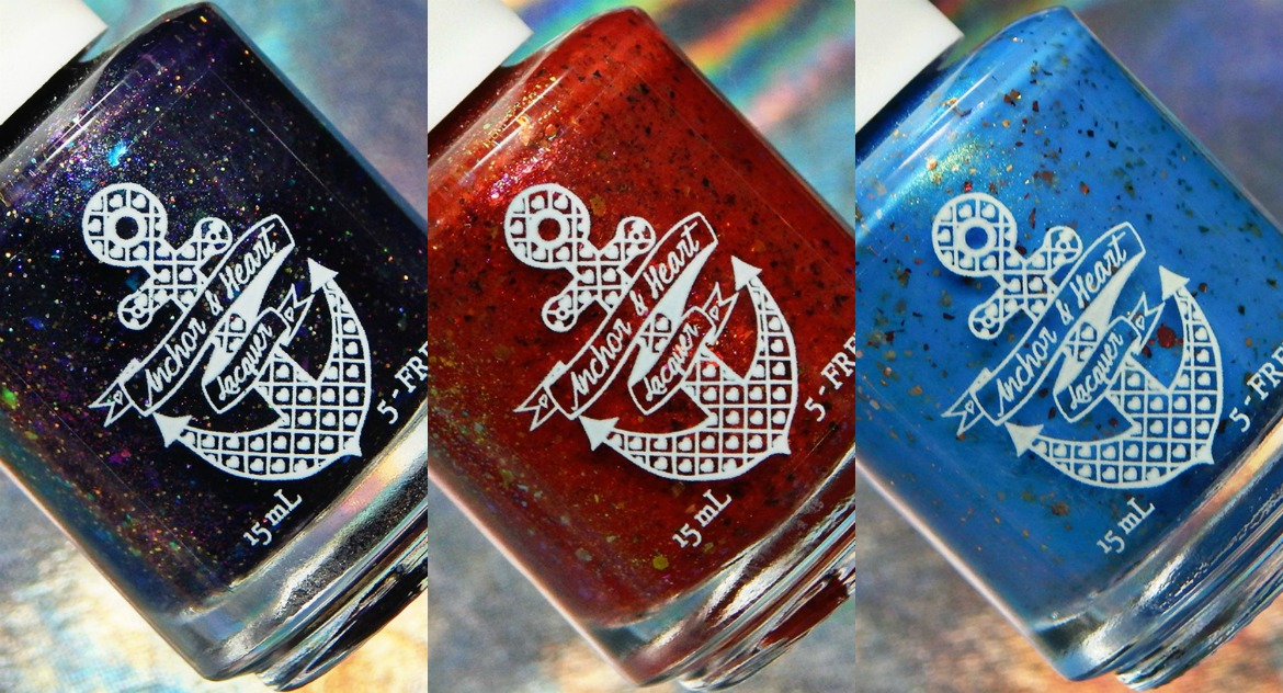 Anchor & Heart Lacquer   January, February & March 2019 Charity Polishes