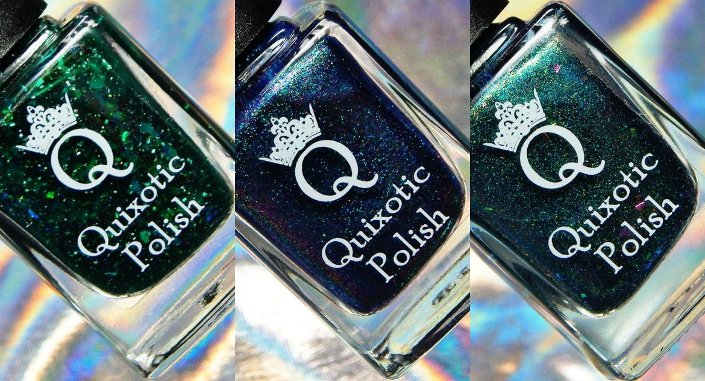 Quixotic Polish | 2nd Anniversary Duo & Shamrock Shimmy