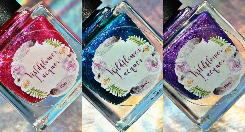 Wildflower Lacquer | Birthday Trio
