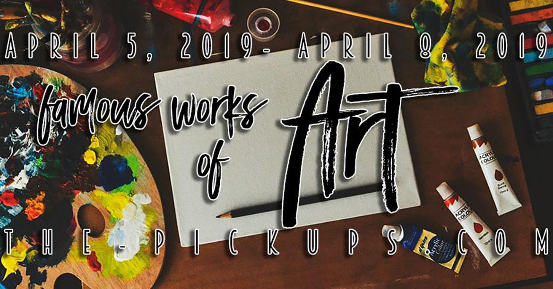April 2019 Polish Pickup | Famous Works of Art