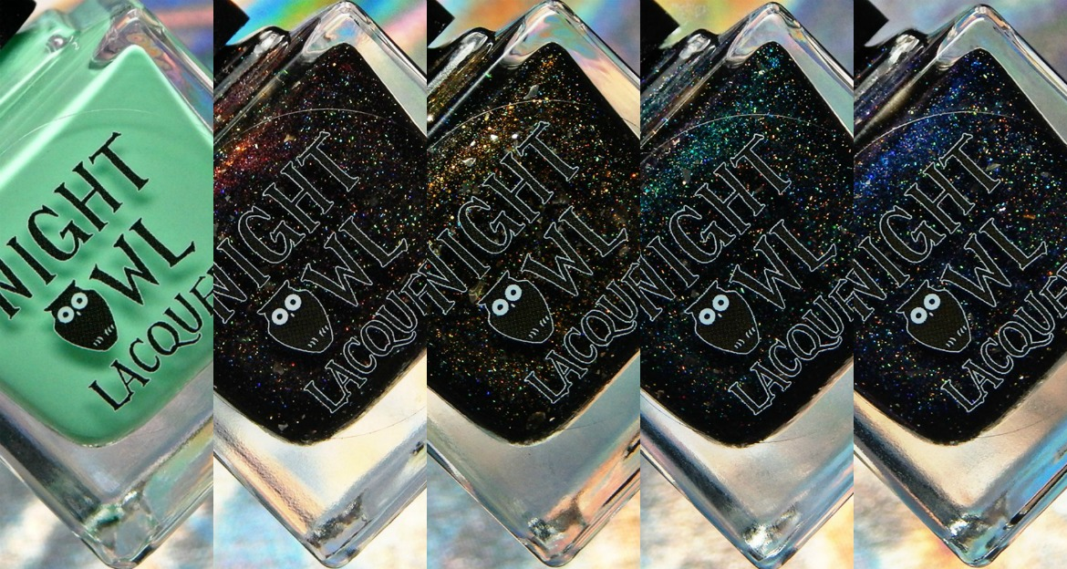 Night Owl Lacquer | Lost In Black Collection & March COTM