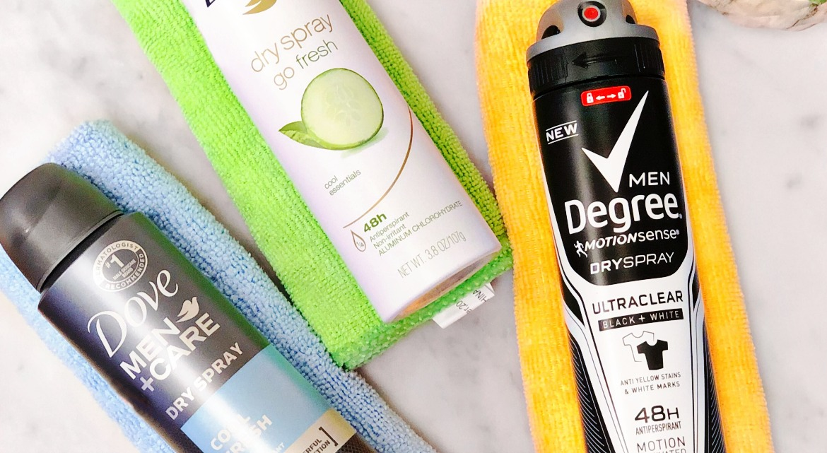 Spring Refresh with Dove & Degree