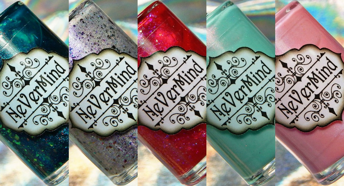 Nevermind Polish   Sea Spirits Collection & Passion Pixie