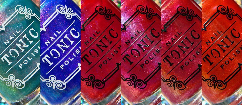 Tonic Polish   Matte Brights Collection