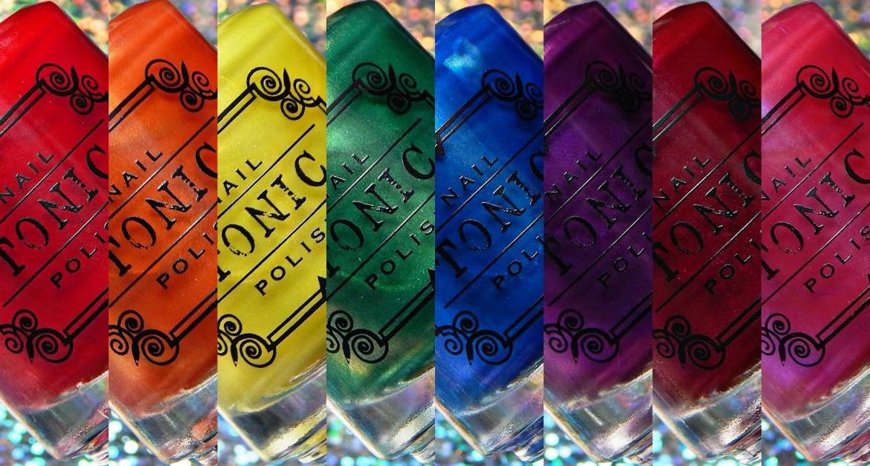 Tonic Polish   Rainbow Brights Collection