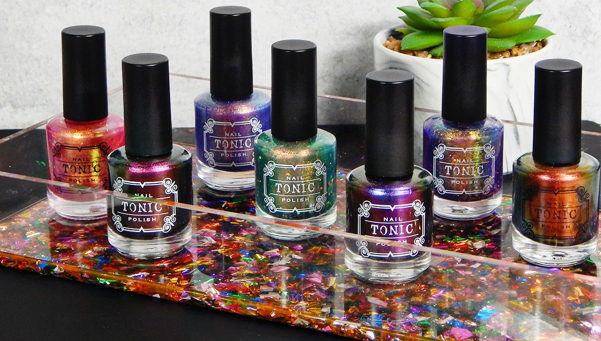 Tonic Nail Polish | Fairy Queen Quad & New Multichrome Parade