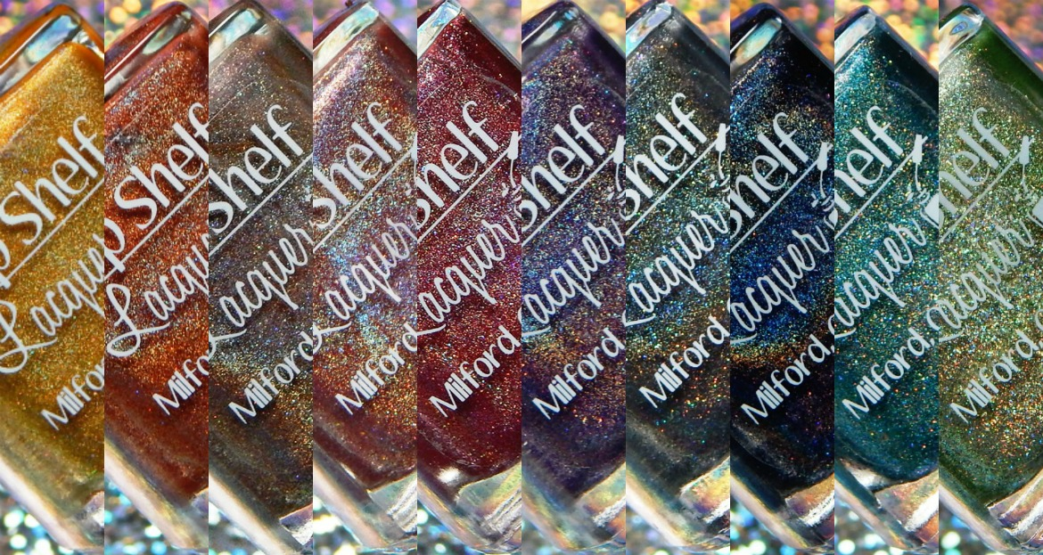 Top Shelf Lacquer | Fall Holo Fun Collection