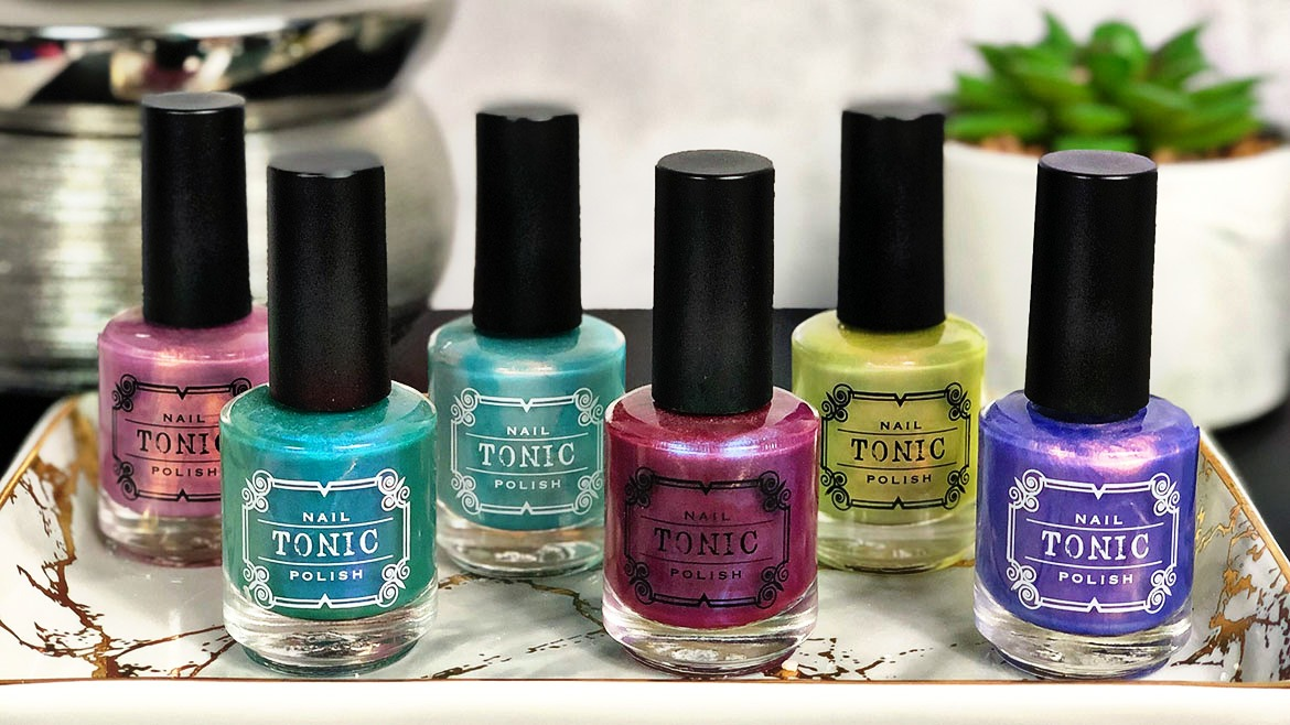 Tonic Nail Polish | Soft Shimmers Collection