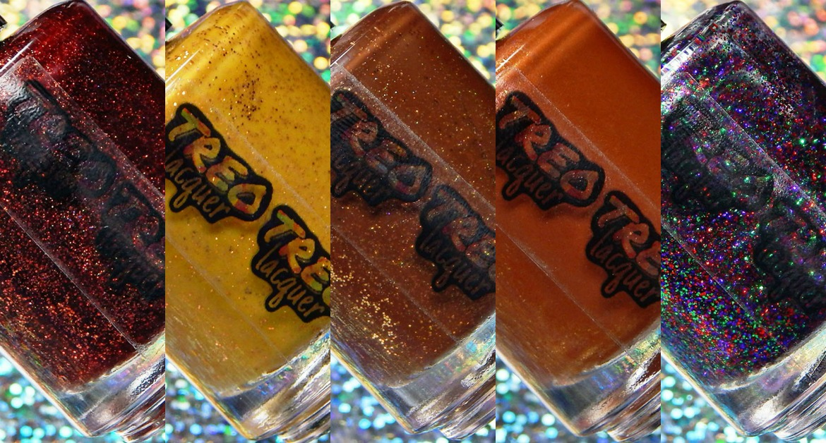 Treo Lacquer | Can You Dig It Treo & BioShock Polishes