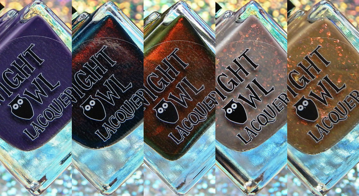 Night Owl Lacquer | Fall 2019 Collection & November Creme of the Month