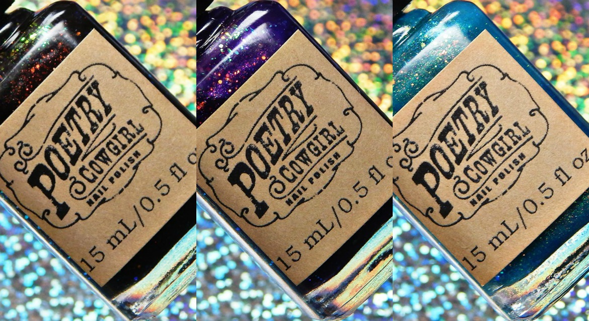 Poetry Cowgirl Nail Polish | The Indie Shop Limited Edition Trio