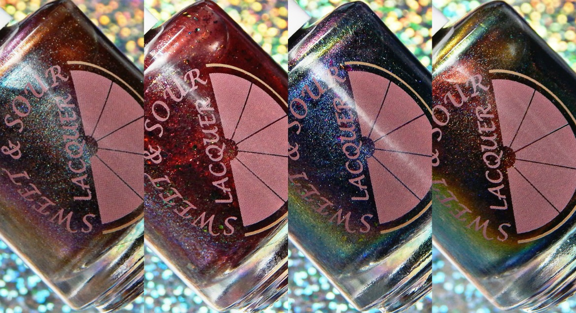 Sweet & Sour Lacquer | Noble Gases Trio & Bug Blood (The Indie Shop Event Exclusive)