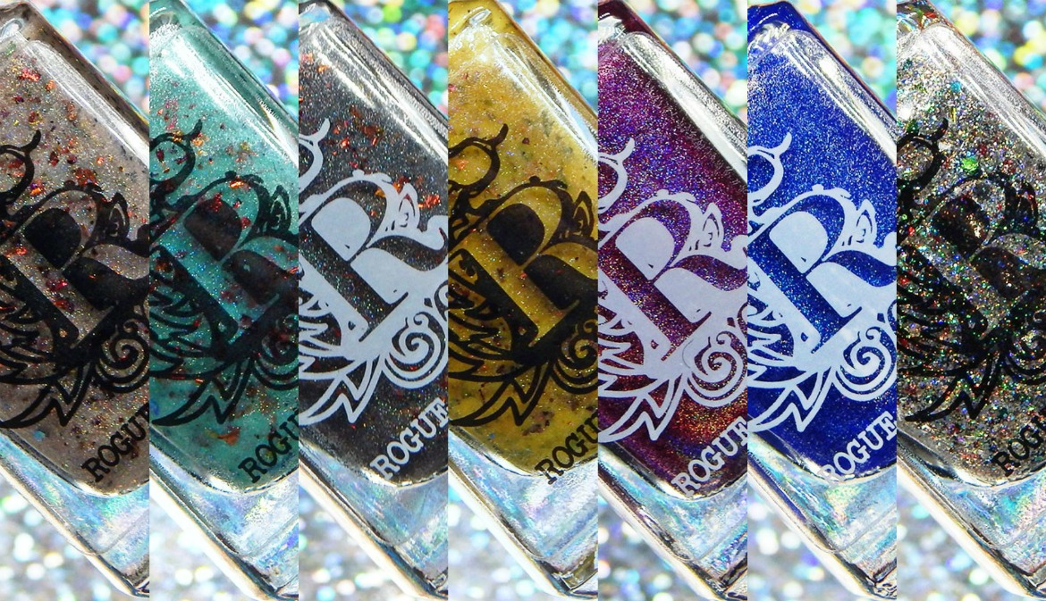 Rogue Lacquer   Holodays Duo, Black Friday Doorbuster & Wilds of Arizona Part 3