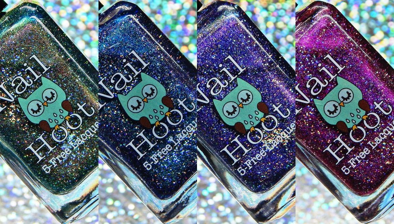 Nail Hoot | Liquid Galaxy Collection