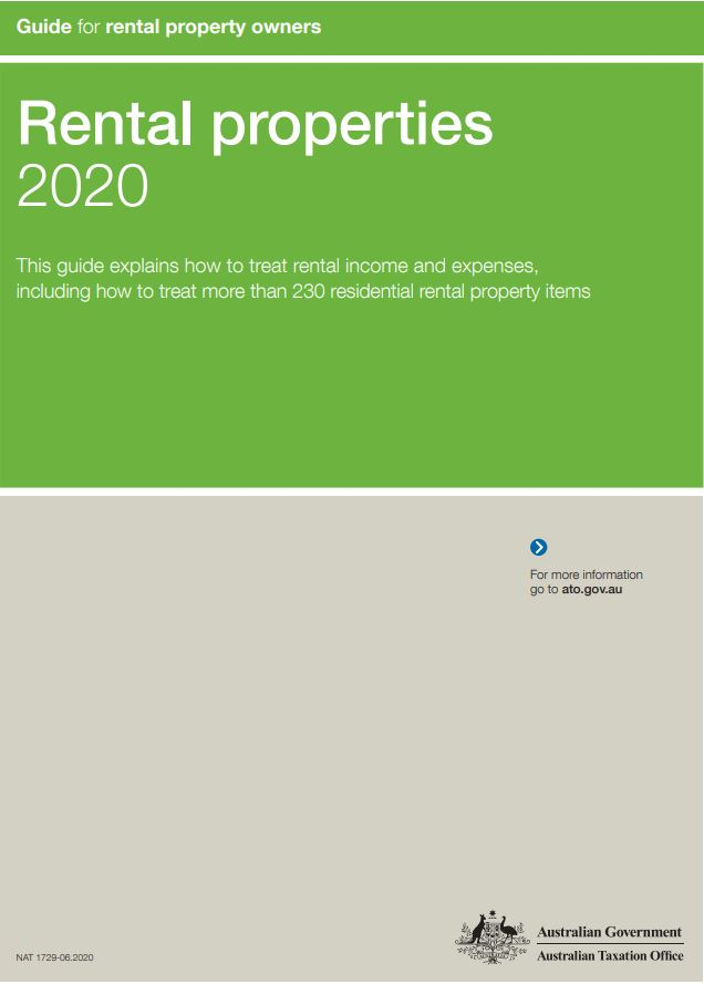 2020 Rental Property Owners Tax Guide