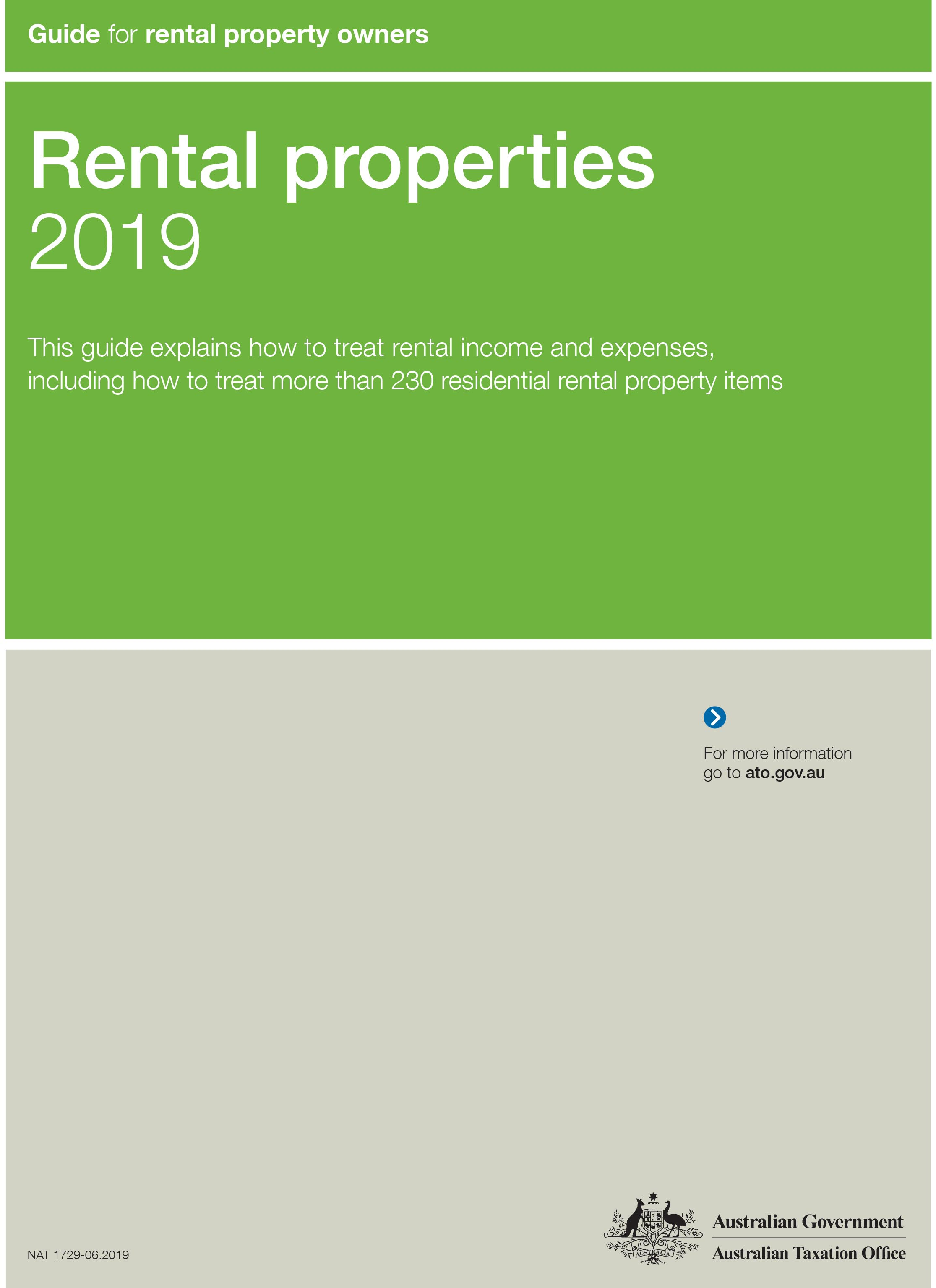 2019 Rental Property Owners Tax Guide