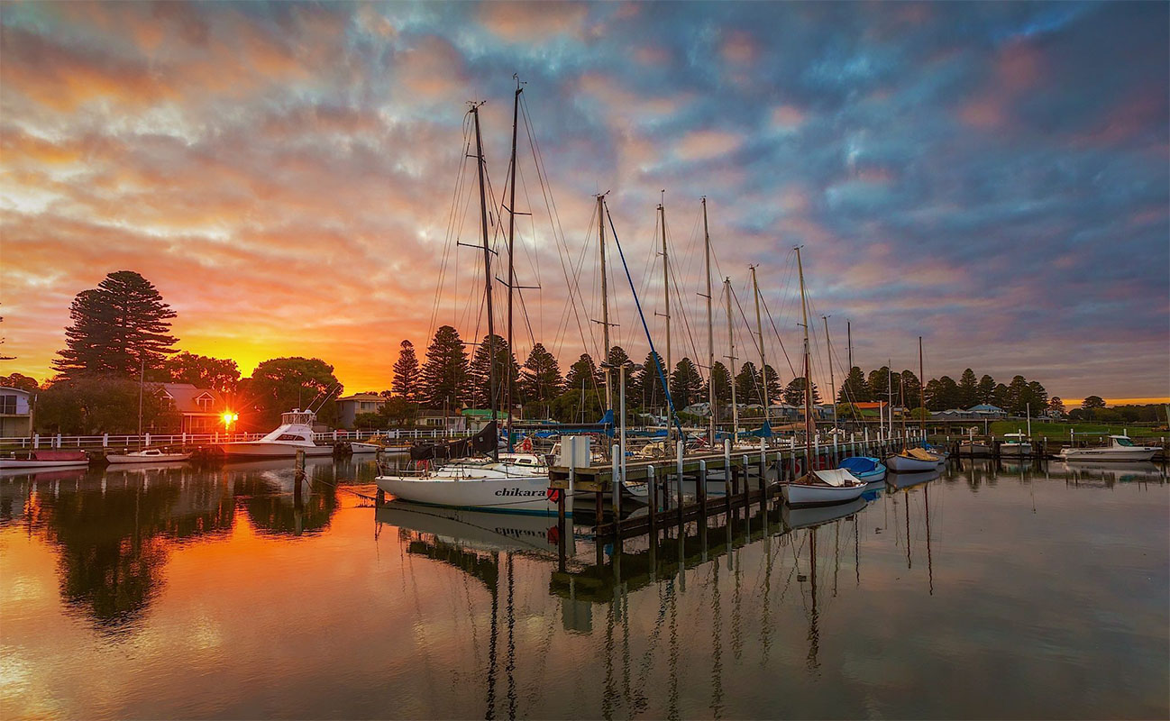 Boats at Port Fairy