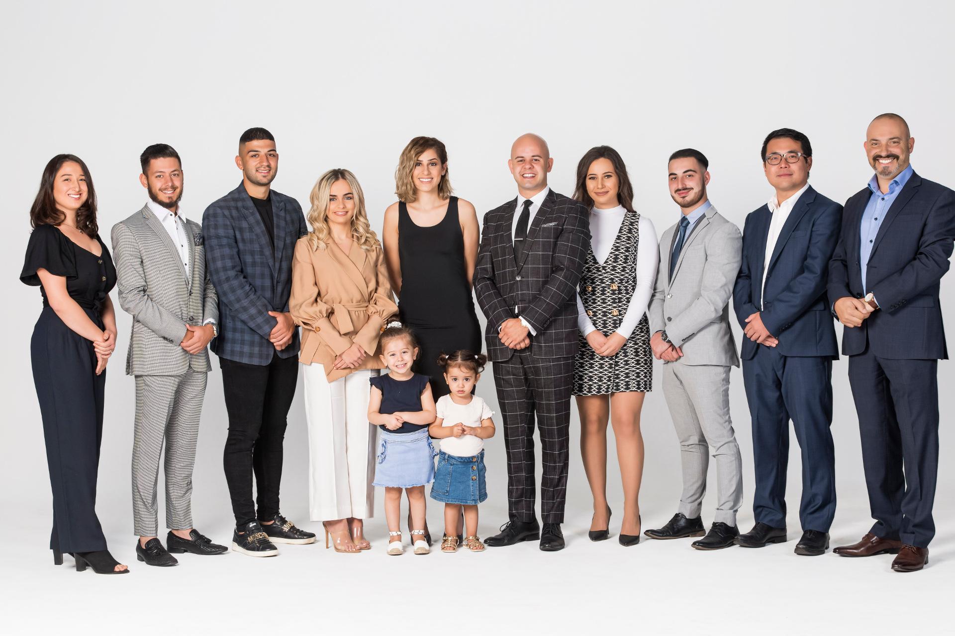 The Realest Estate Team Photo