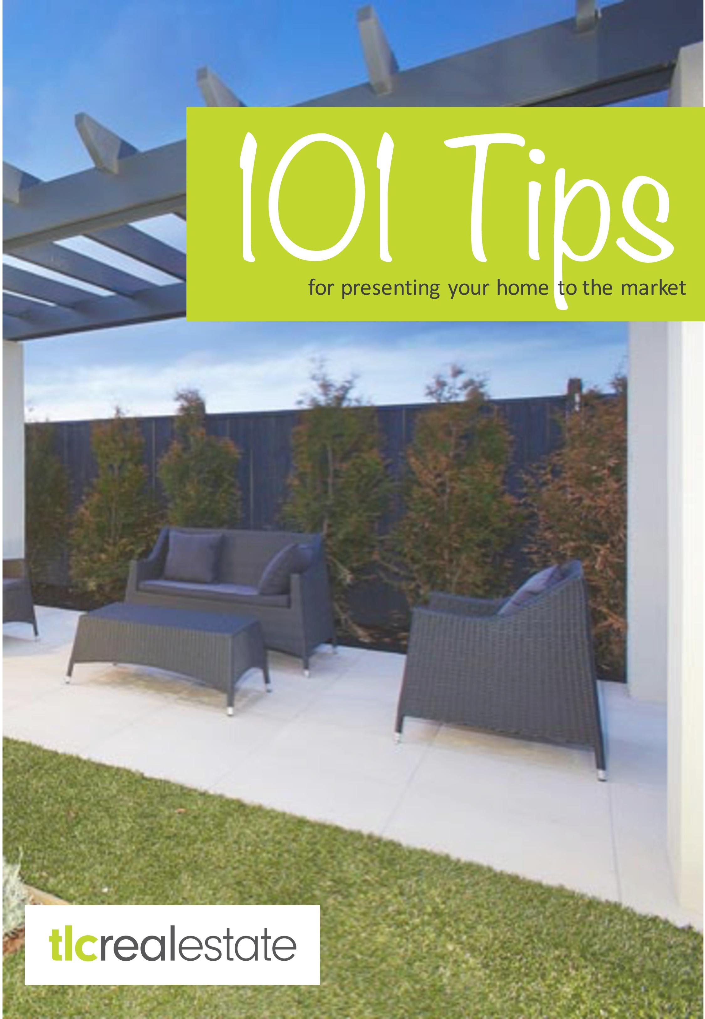 101 Tips from TLC Real Estate