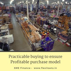 Practicable buying to ensure Profitable purchase model