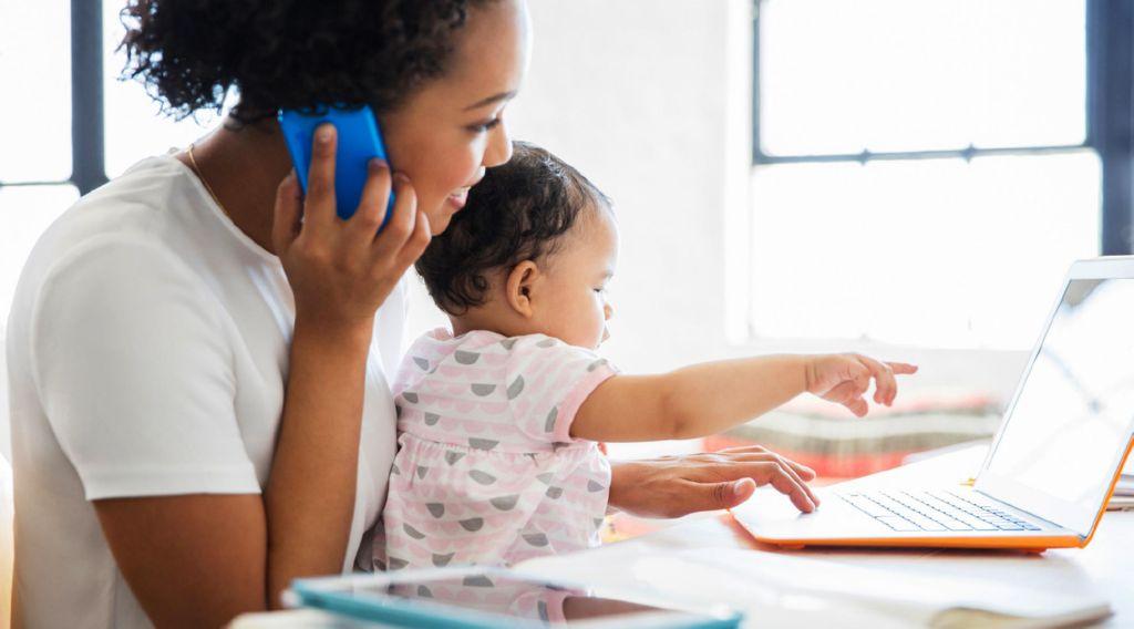 Negocios desde casa para mamás