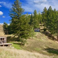 Tobacco River Ranch Glamping in Western Montana.
