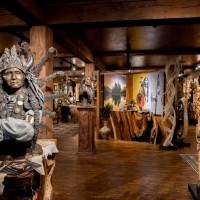 Sunti World Art Gallery in Western Montana.