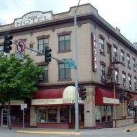 Kalispell Grand Hotel in Western Montana.