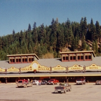 Lincoln's Silver $ Bar, Gift Shop and Restaurant in Western Montana.