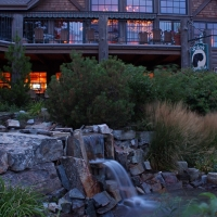 Bigfork Mountain Lake Lodge in Western Montana.