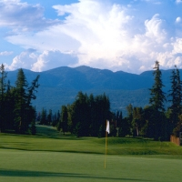 Whitefish Lake Golf Course in Western Montana.