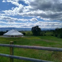 Little Smith Creek Ranch Wedding & Event Center in Western Montana.