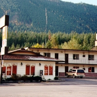 Big Sky Motel in Western Montana.