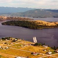 Dayton Yacht Harbor in Western Montana.
