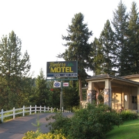 Timbers Motel in Western Montana.