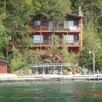Eagle Bend Flathead Vacation Rentals in Western Montana.