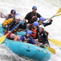 10,000 Waves Raft & Kayak Adventures in Western Montana.