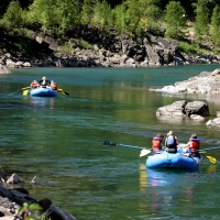 Glacier Guides and Montana Raft  in Western Montana.