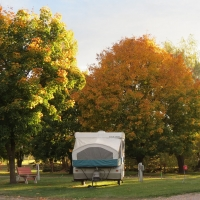 Diamond S RV Park and Campground in Western Montana.