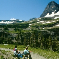 Glacier National Park in Western Montana.