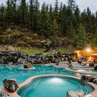 Quinn's Hot Springs Resort in Western Montana.