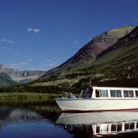 Glacier Park Boat Company in Western Montana.