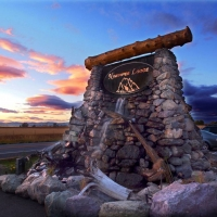 Ninepipes Lodge and Allentown Restaurant in Western Montana.