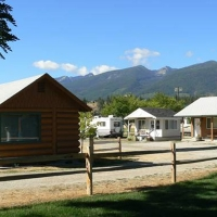 Travellers Rest Cabins & RV Park in Western Montana.