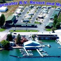 Edgewater RV Resort & Motel in Western Montana.