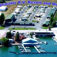 Edgewater RV Resort & Motel in Western Montana.
