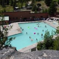 Olson's Lolo Hot Springs in Western Montana.