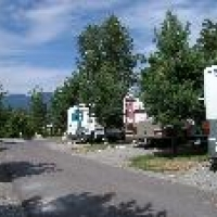 Whitefish RV Park in Western Montana.