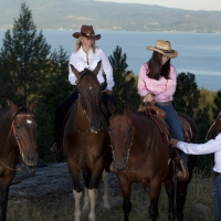 Daily Trail Rides - Averill's Flathead Lake Lodge